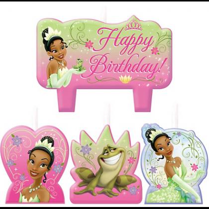©Disney Tiana Enchanted Birthday Candle Set