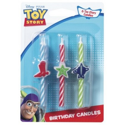 Toy Story 3 Woody Buzz-Icon Candle