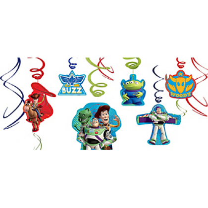 ©Disney/Pixar Toy Story Power Up Value Pack Foil Swirl Decs.