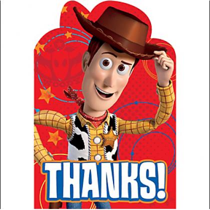 ©Disney/Pixar Toy Story Power Up Postcard Thank You Cards