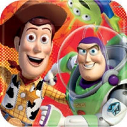 "©Disney/Pixar Toy Story Power Up Square Plates, 9"""