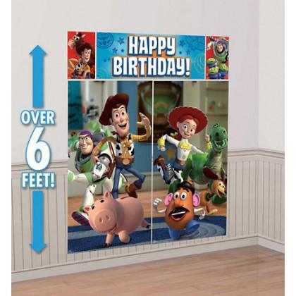 ©Disney/Pixar Toy Story Power Up Scene Setters® Wall Dec. Kit - Plastic