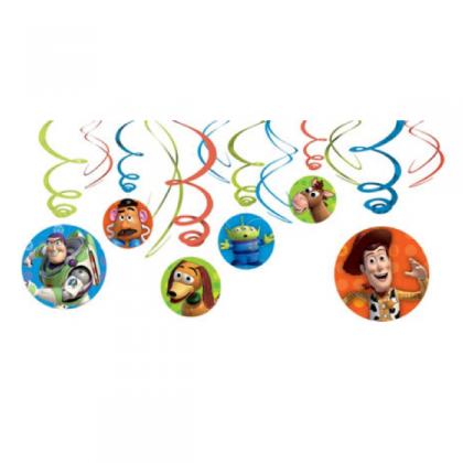 ©Disney/Pixar Toy Story 3 Swirl Decorations