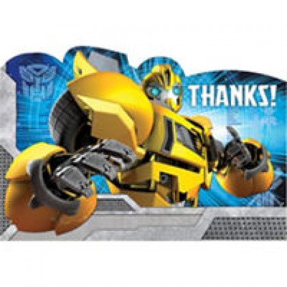 Transformers™ Core Postcard Thank You Cards