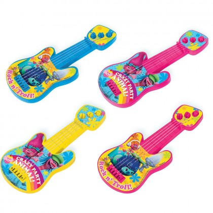 ©Trolls Mini Guitar Favors