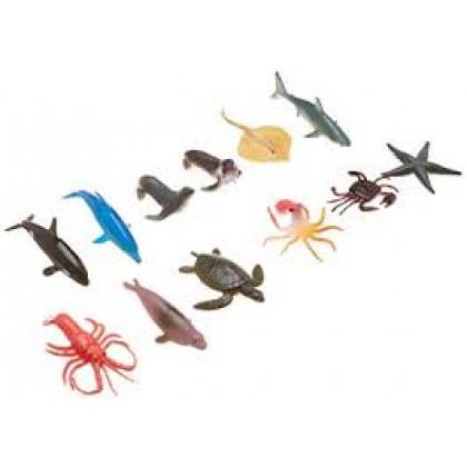 "2 1/2"" x 1 1/4"" Sea Animal Favors"