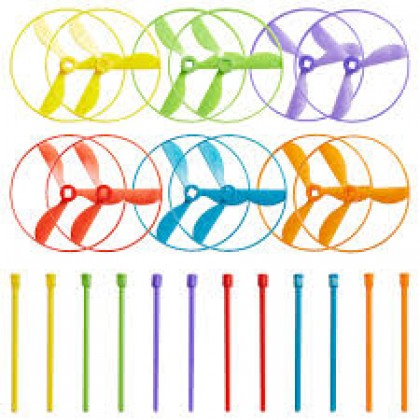 """6""""H x 7""""W x 1""""D Whirl-A-Copter Favors"""