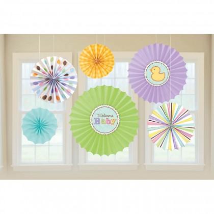 Tiny Bundle Paper Fan Decorations