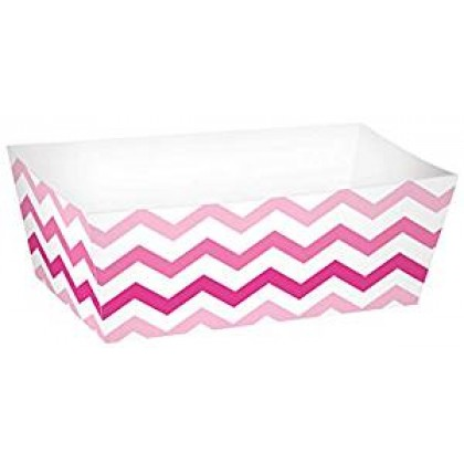 Paper Minis Rectangle Trays - Pink