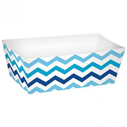 Paper Minis Rectangle Trays - Blue