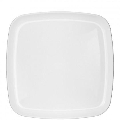 """14"""" Square Platter - White"""