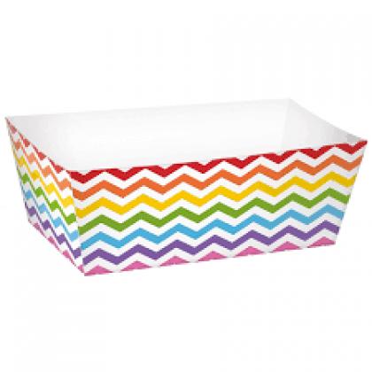 Paper Minis Rectangle Trays - Rainbow