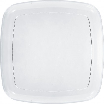"""14"""" Square Platter - Clear"""