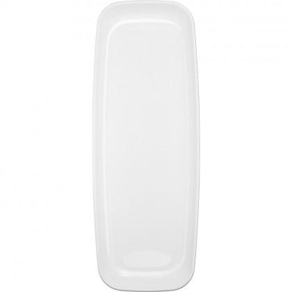 """6 1/2"""" x 17 1/2"""" Long Platter - White"""