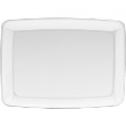 """8"""" x 11"""" Small Serving Tray - White"""