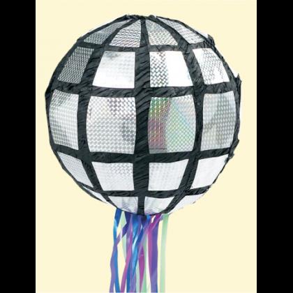 Disco Ball Deluxe Conventional Pull Piñata