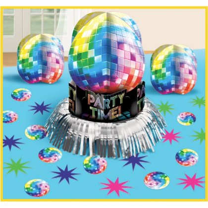 Disco Fever Table Decorating Kit