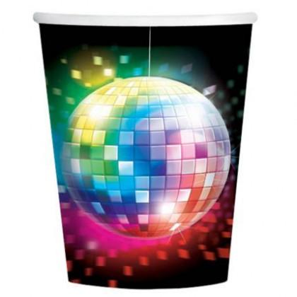 Disco Fever Cups, 9 oz.