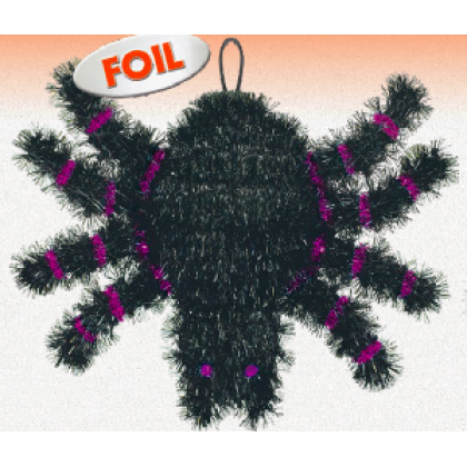 Family Friendly Spider Decoration Tinsel