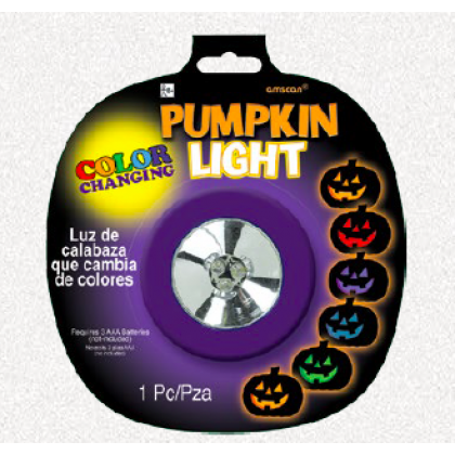 Halloween Color Changing Pumpkin Light