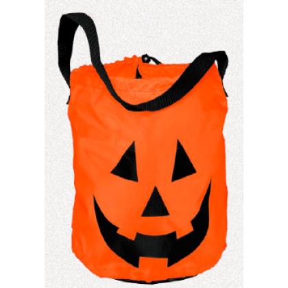 Halloween Polyester Pumpkin Tote