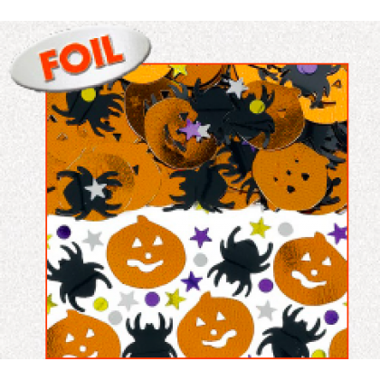 Halloween Confetti Mix - Foil