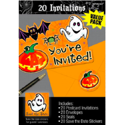 Scared Silly Value Pack Invitations
