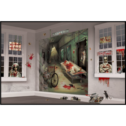 Asylum/Chop Shop Scene Setters Mega Value Wall Decorating Kit