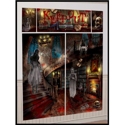 Haunted Mansion Scene Setters® Wall Decorting Kit