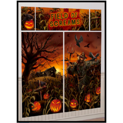 Field of Screams Scene Setters® Wall Decorating Kit