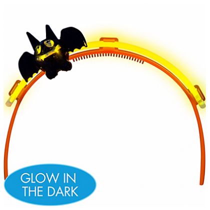 Halloween Bat Glow Headband
