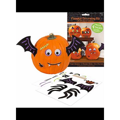 Pumpkin Decorating Kit - Cute Characters