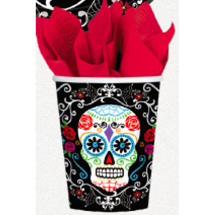 Day of The Dead 9 oz. Cups