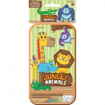 Sticker Activity Kits - Jungle Animals