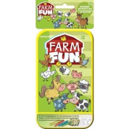 Sticker Activity Kits - Farm Fun