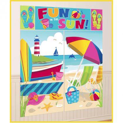 Summer Scene Setter® Wall Decorating Kit