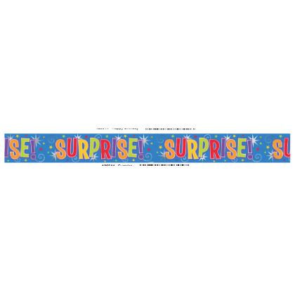 12' Metallic Surprise Banner