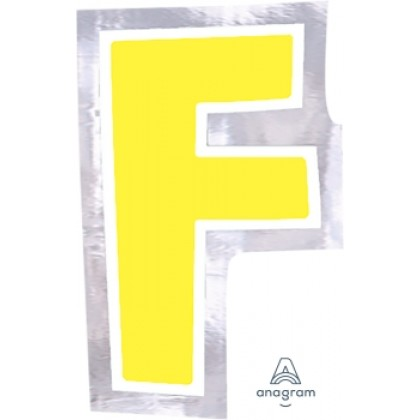 "Personalized It Letter ""F"""