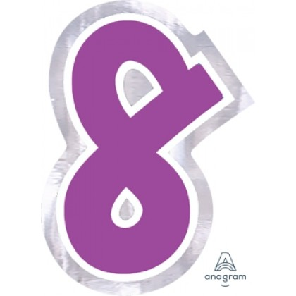 """Personalized It Number """"8"""""""