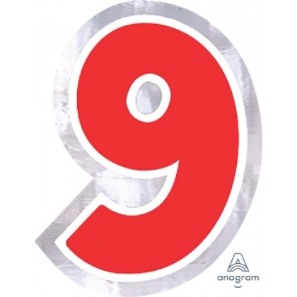 """Personalized It Number """"9"""""""