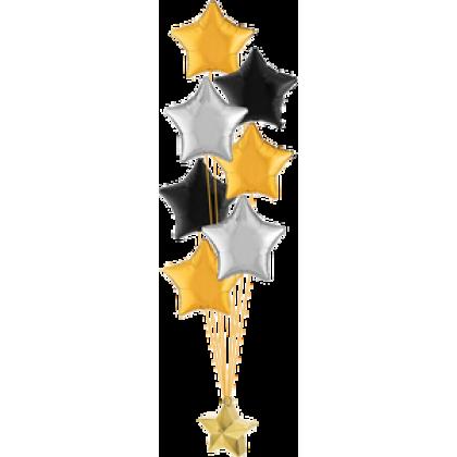 Balloon Centrepiece (7 Foil)