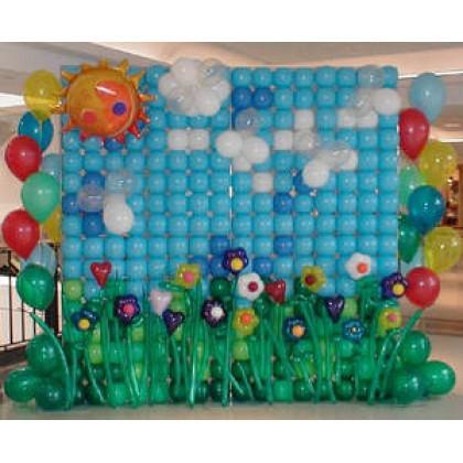 Customized Balloon Wall