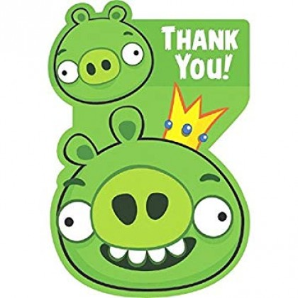 Angry Birds™ Postcard Thank You Cards