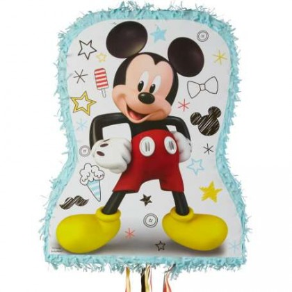Disney Mickey On The Go Licensed Outline Pull Piñata