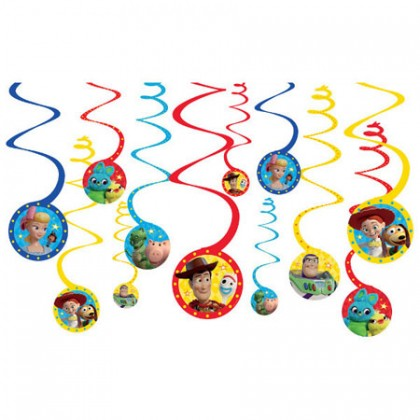 ©Disney/Pixar Toy Story 4 Spiral Decorations