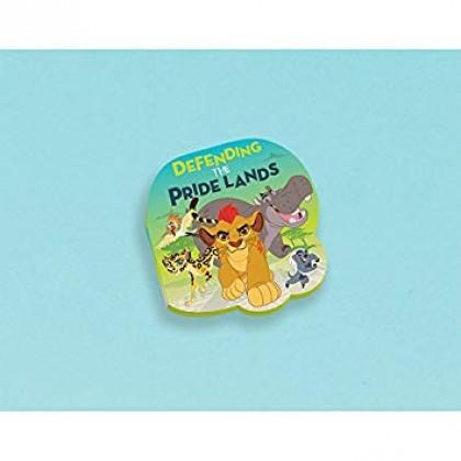 Disney The Lion Guard Die-Cut Notepad Favor