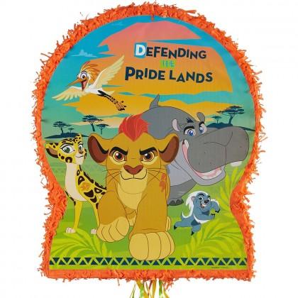 Disney The Lion Guard Licensed Outline Pull Piñata