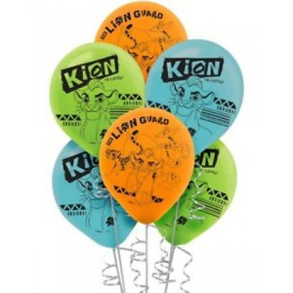 Disney The Lion Guard Printed Latex Balloons - Asst. Colors