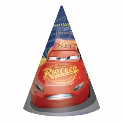 Disney Pixar Cars 3 Cone Hats Paper