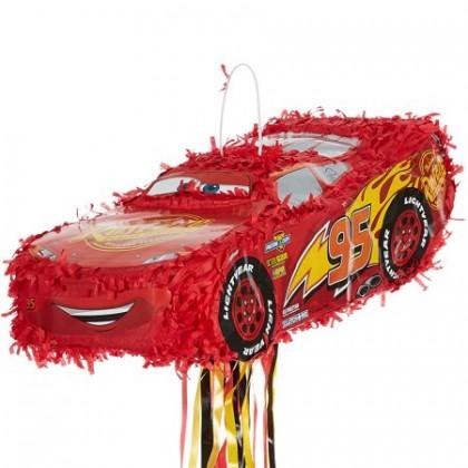 Disney/Pixar Cars 3 Licensed 3-D Premium Pull Piñata - McQueen
